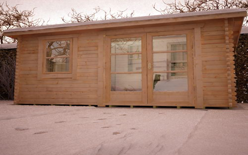 Belton Log Cabin by Island Sheds1
