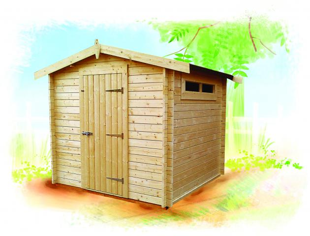 Albany Charnwood Shed by Island Sheds
