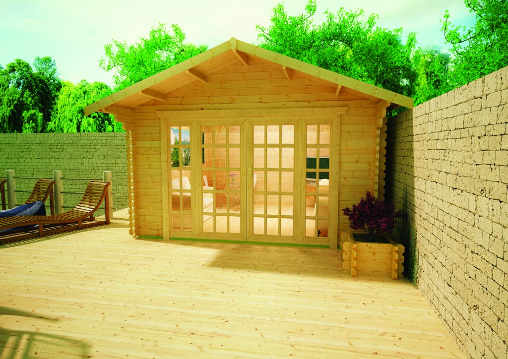Balmoral Log Cabin by Island Sheds