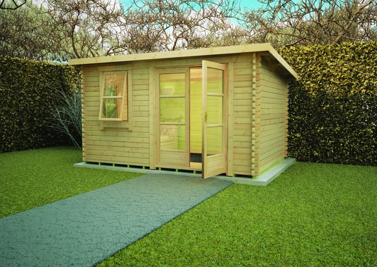 BELTON LOG CABIN by Island Sheds