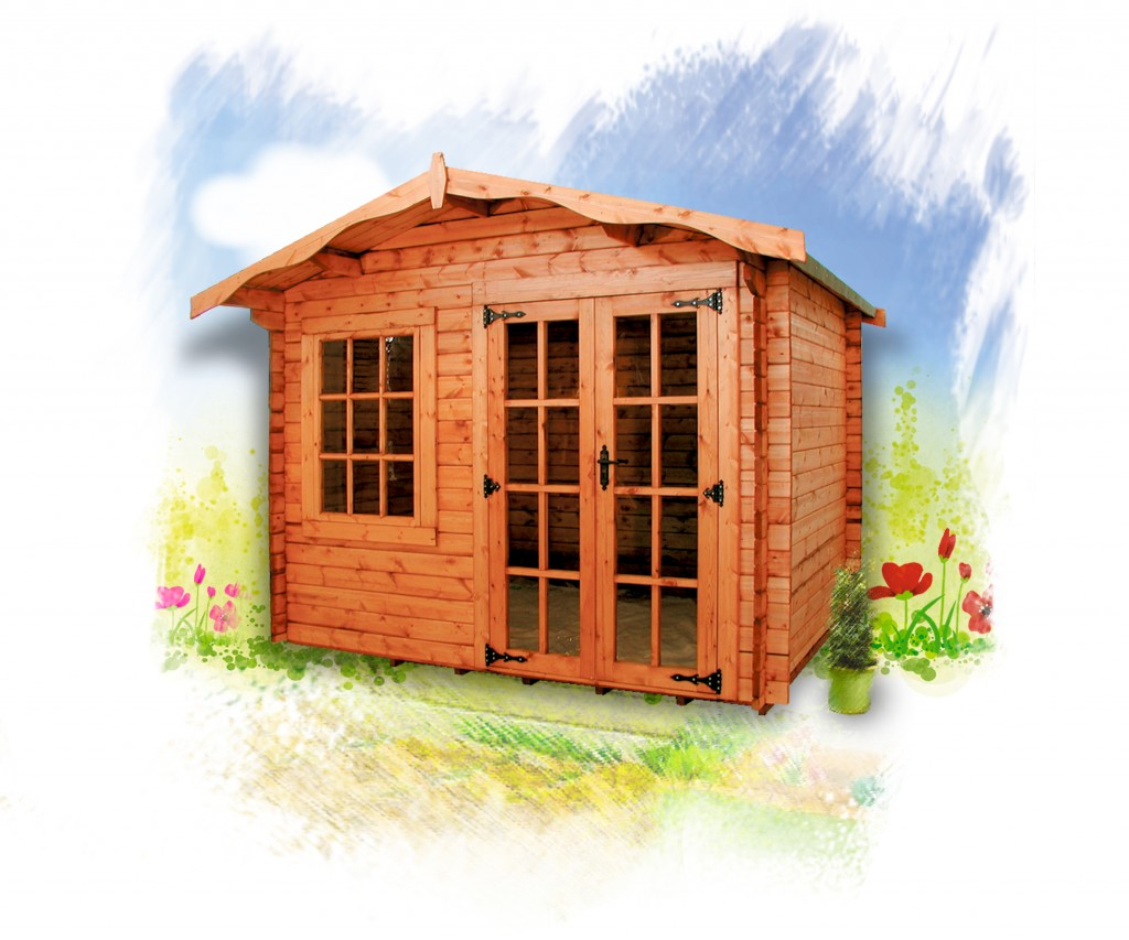 CHARNWOOD A SUMMER HOUSE by Island Sheds