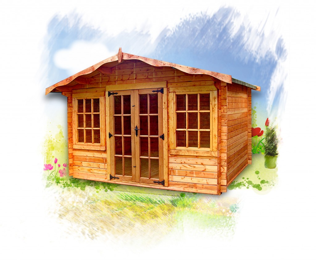 CHARNWOOD C SUMMERHOUSE by Island Sheds