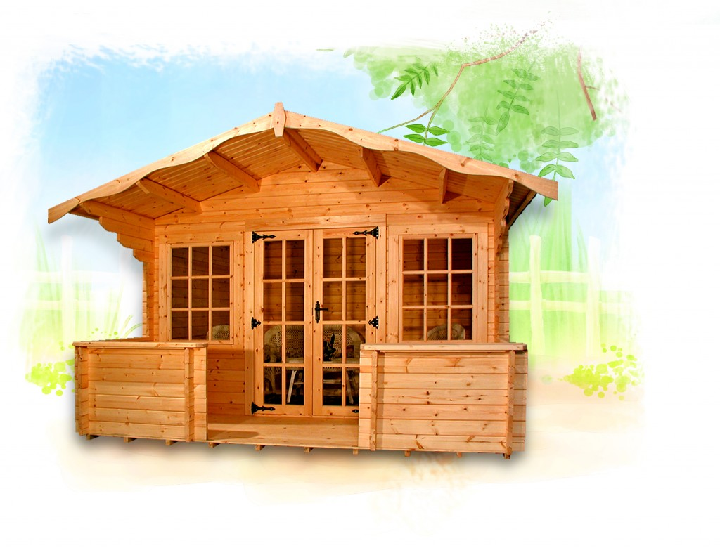 CHARNWOOD D SUMMERHOUSE by Island Sheds