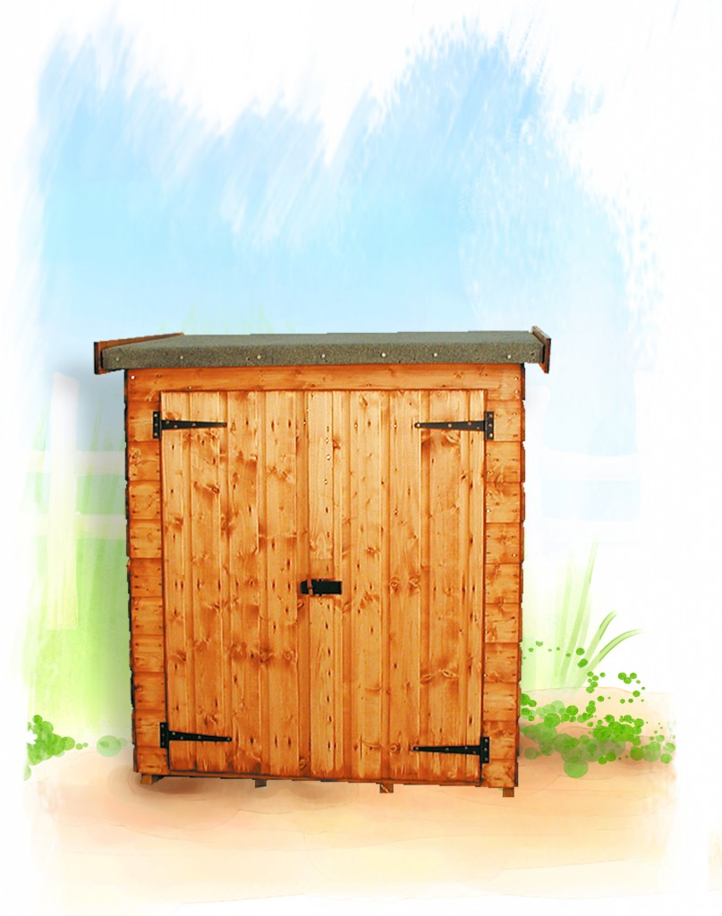 CLUTTERBOX SHED by Island Sheds
