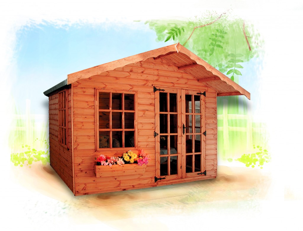 COTSWOLD SUMMERHOUSE by Island Sheds