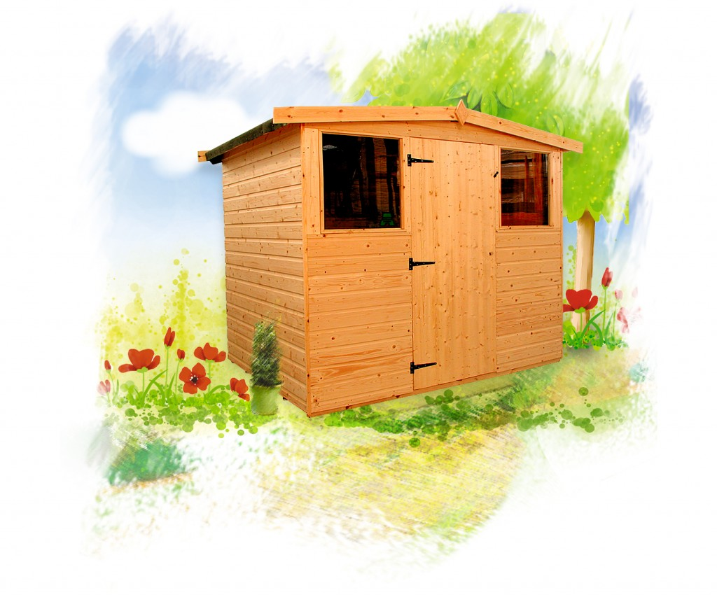 DART 806 Shed by Island Sheds