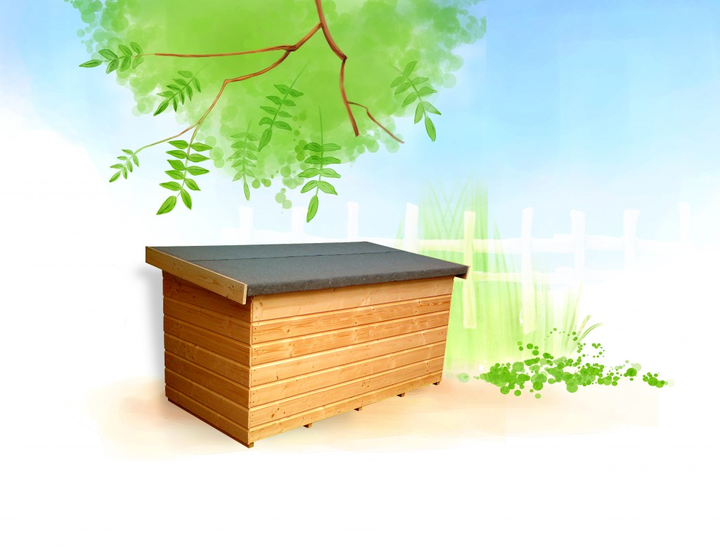 GARDEN CHEST by Island Sheds