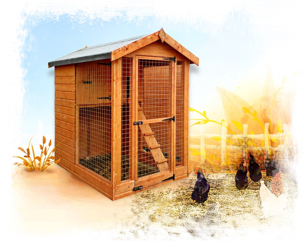 HEN HOUSE by Island Sheds