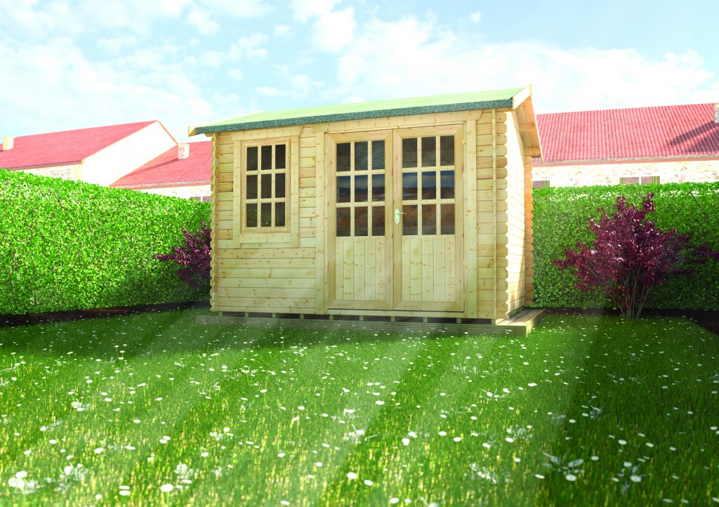 HENLEY LOG CABIN 1 by Island Sheds