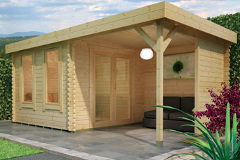 Lulworth Log Cabin by Island Sheds1