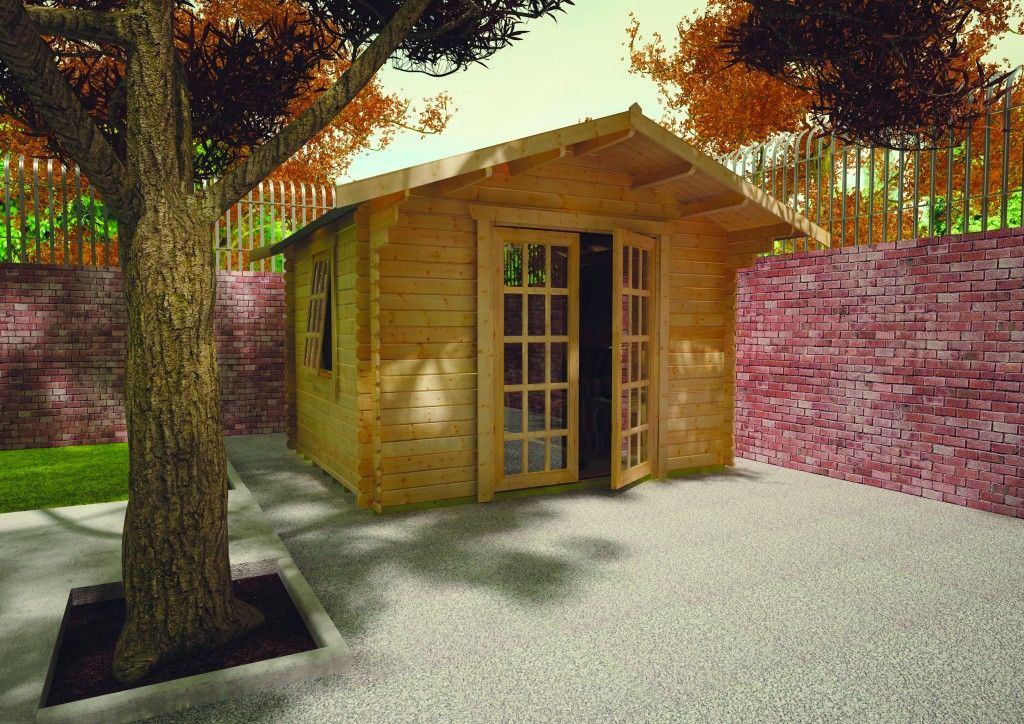 Lotherton Log Cabin by Island Sheds