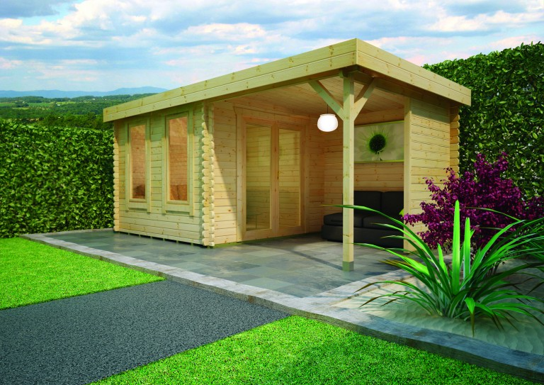 LULWORTH SUMMER HOUSE by Island Sheds