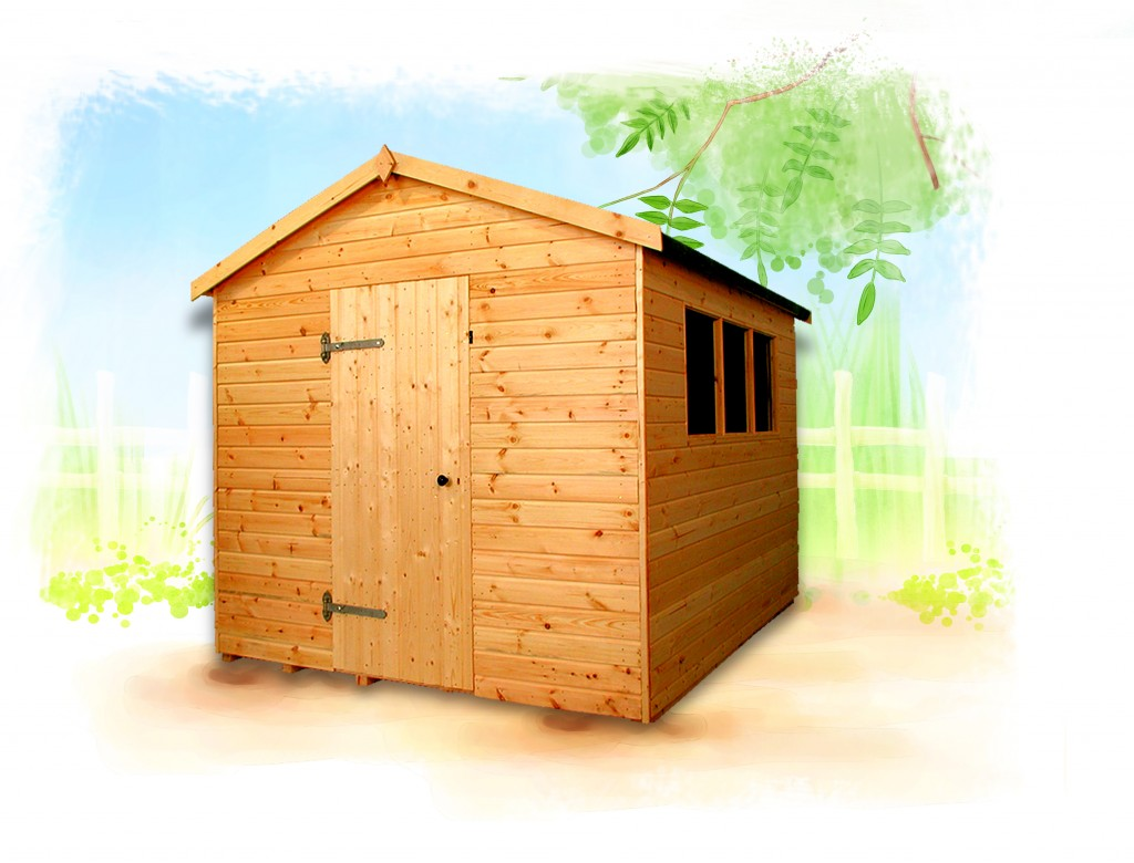 Major Apex shed by Island Sheds
