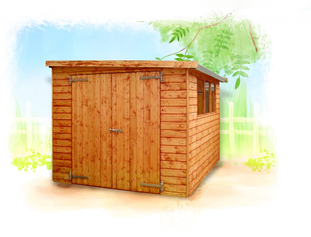 Major Pent Shed by Island Sheds