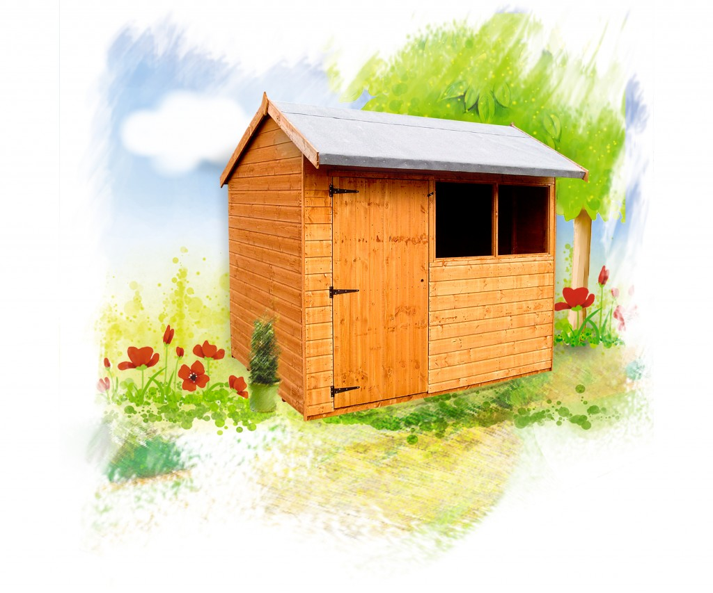 PYTCHLEY Shed by Island Sheds