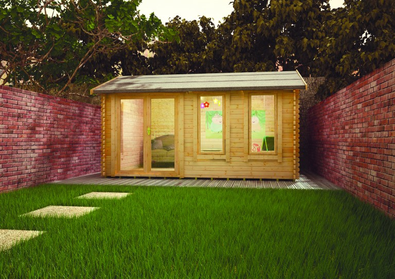 SHERBORNE LOG CABIN by Island Sheds1