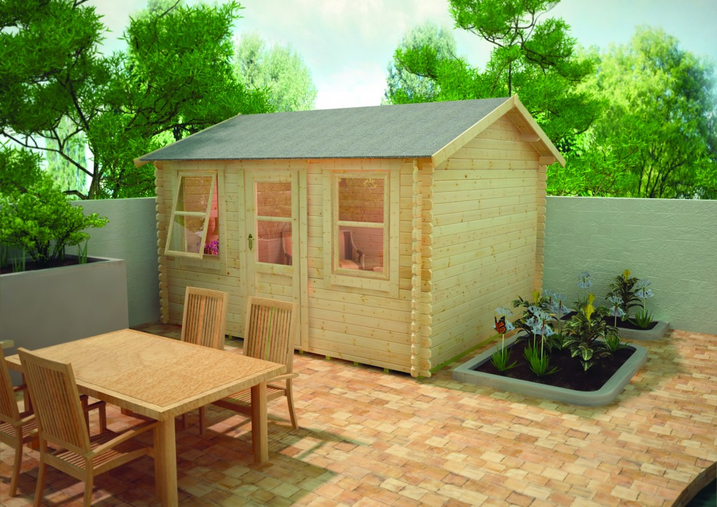 Skipton Log Cabin by Island Sheds
