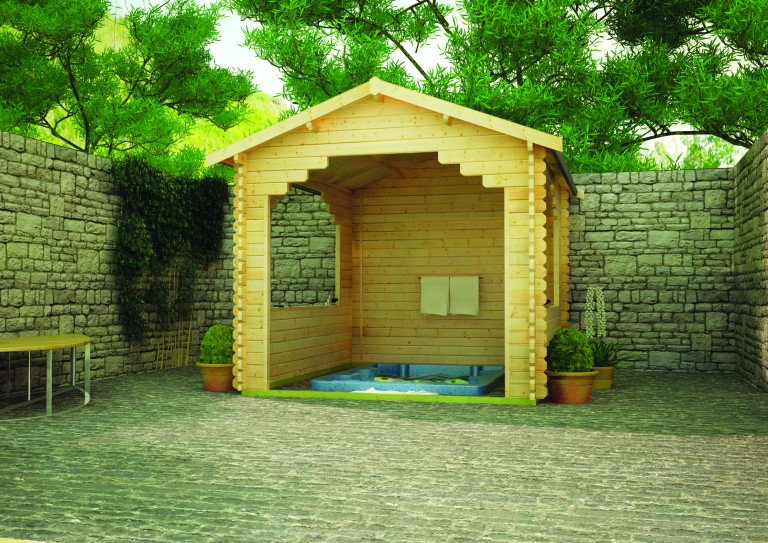 STOWE SHELTER by Island Sheds