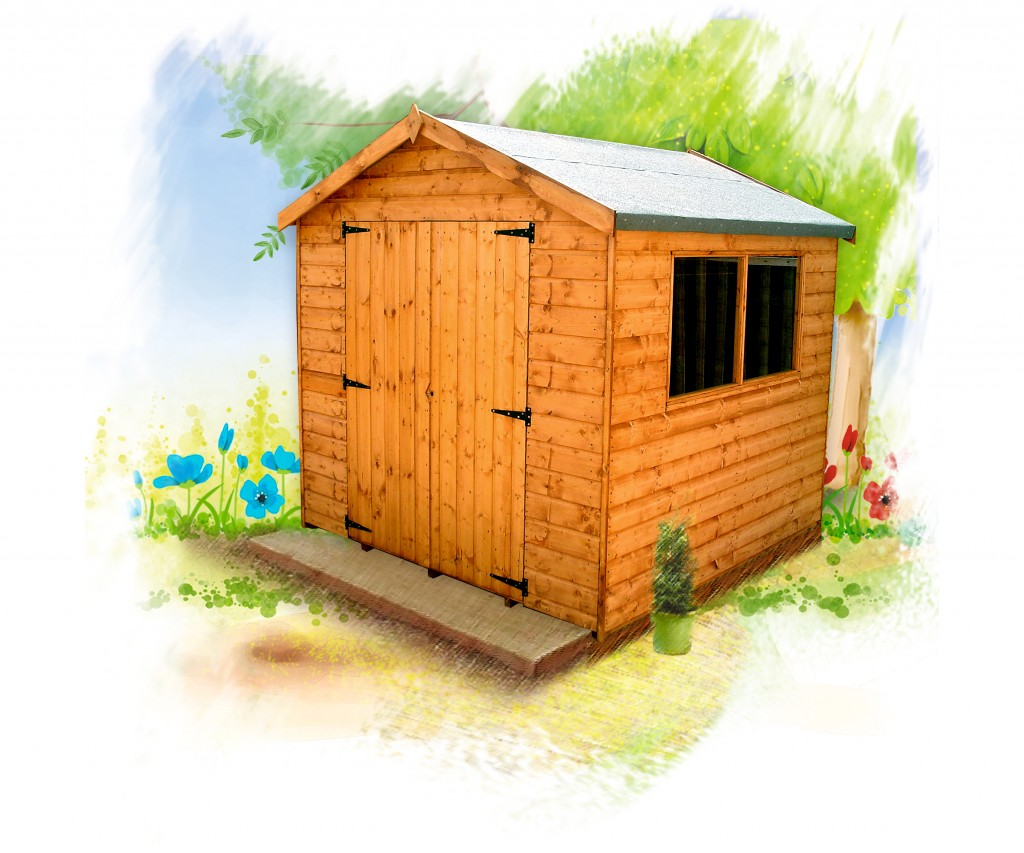 SURREY shed by Island Sheds