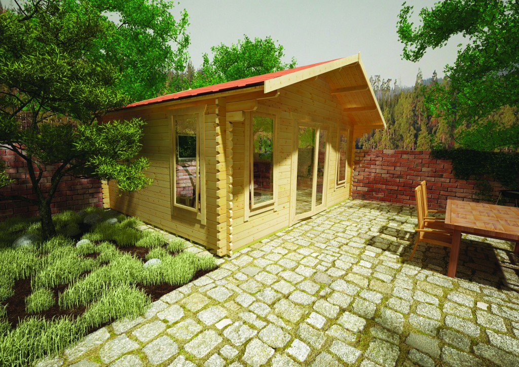 Sutton Log Cabin by Island Sheds