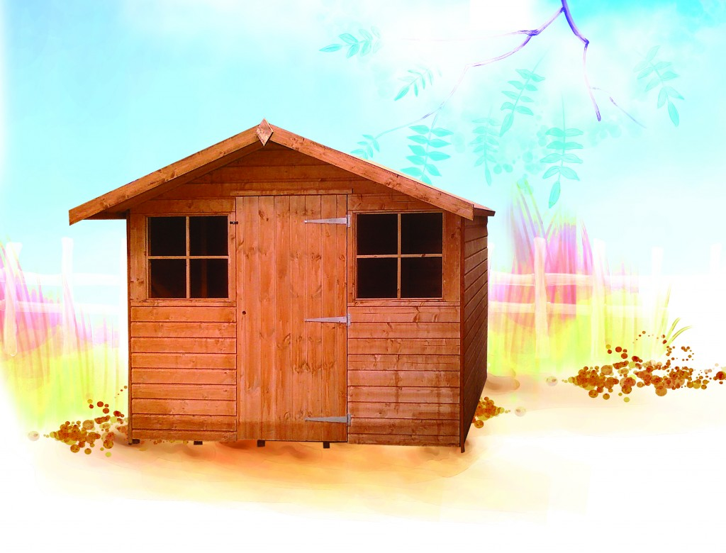 T608 War-Con Shed by Island Sheds