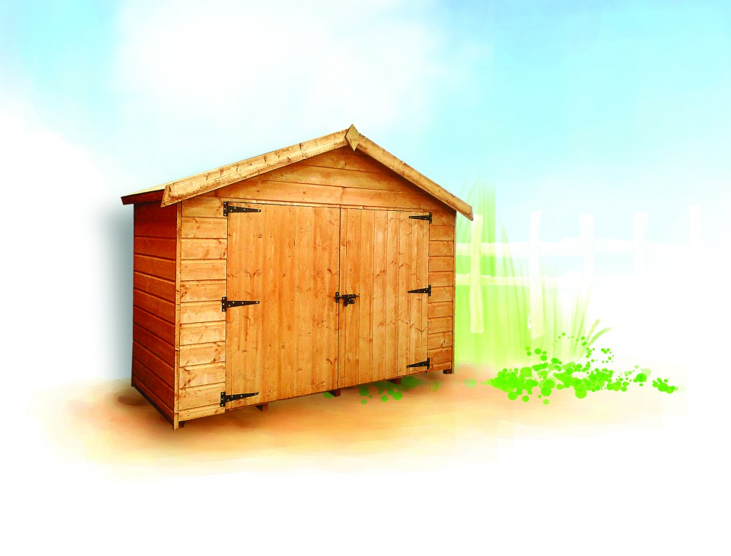 T703 BIKESTORE SHED by Island Sheds