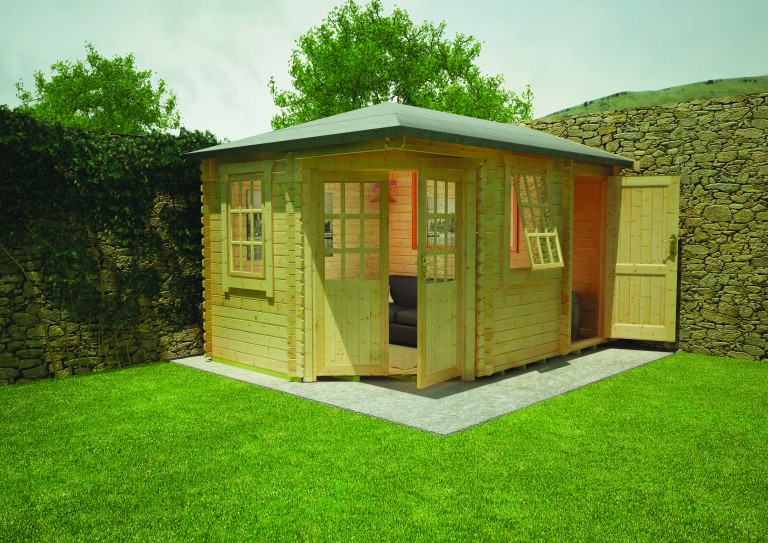 VICTORIA LOG CABIN by Island Sheds1