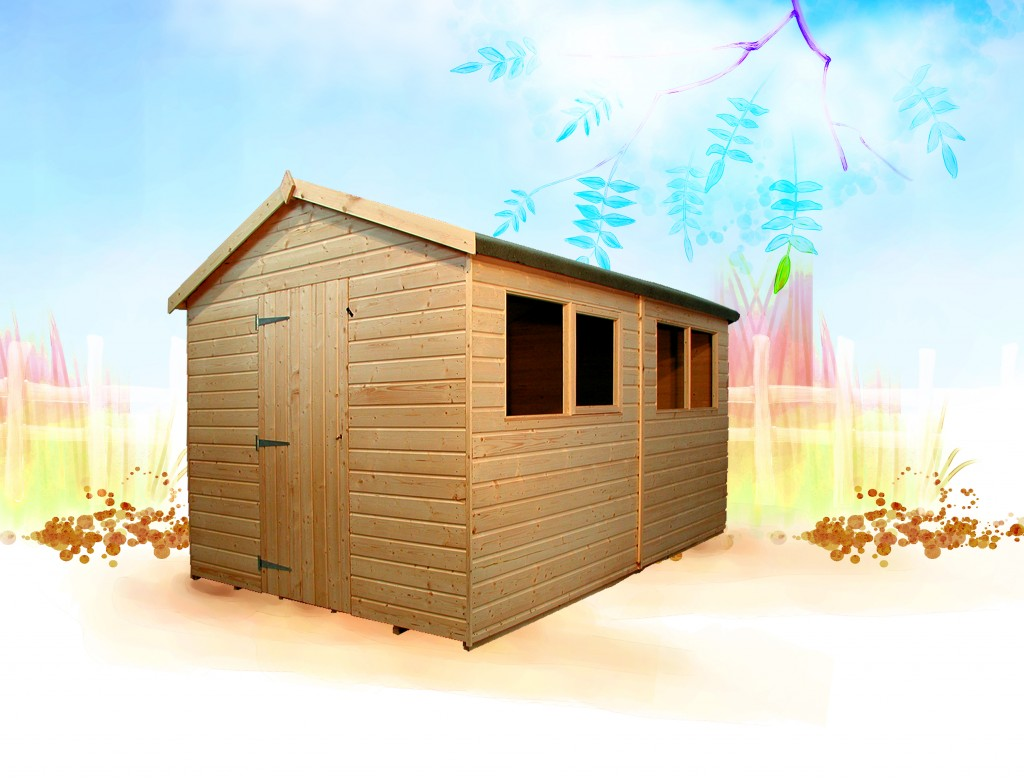 Warwick Plus Shed by Island Sheds